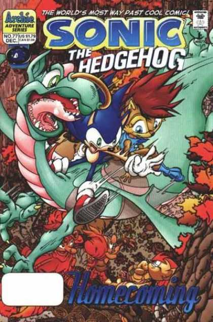 Sonic the Hedgehog 77 - Archie Adventure Series - No 77 - Dec - Us 179 - Homecoming