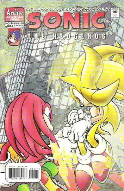 Sonic the Hedgehog 84 - Way Past Cool - Archie Adventure Series - July - Yellow - Red