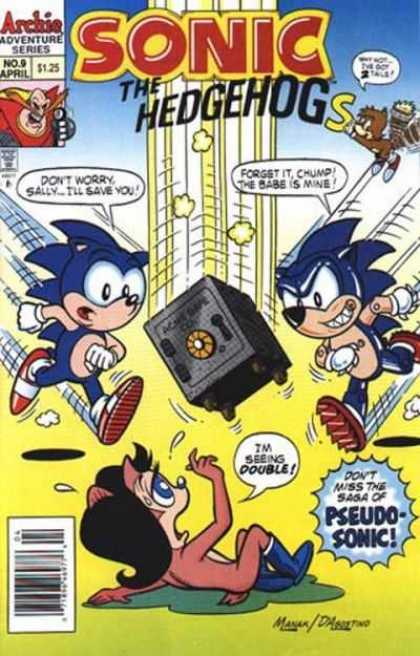 Sonic the Hedgehog 9 - Sally - Chump - Falling Safe - Double - Saga - Jon D'Agostino
