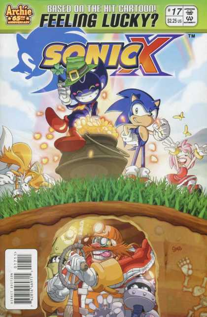 Sonic X 17 - Feeling Lucky - Pot Of Gold - Leprican - Fox - Tunnel