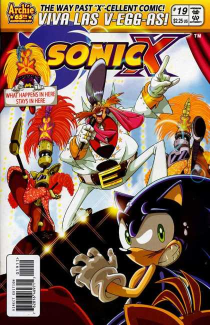Sonic X 19 - Sonic - Tails - Party - Fear - Trap