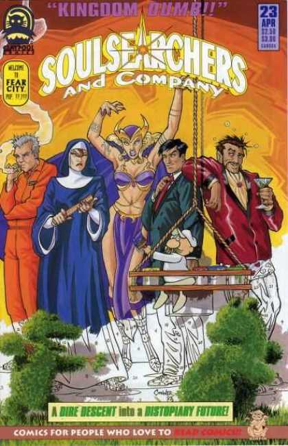 Soulsearchers and Company 23 - Kingdom Dumb - Woman - Man - Rope - Comics For People Who Love