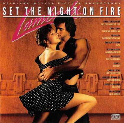 Soundtracks - Lambada Set The Night On Fire (Japanese Edition)