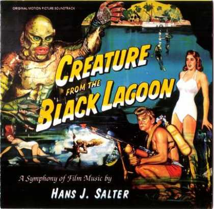 Soundtracks - Creature From The Black Lagoon (1954)