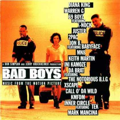 Soundtracks - Bad Boys Soundtrack