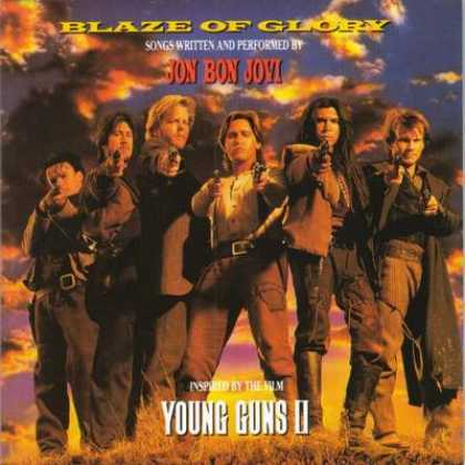 Soundtracks - Jon Bon Jovi - Blaze Of Glory Young Guns 2