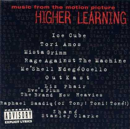 Soundtracks - Higher Learning Soundtrack