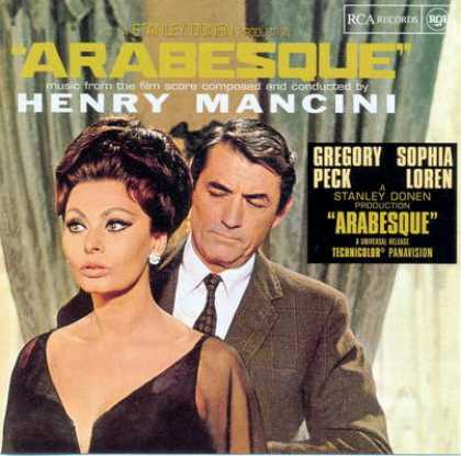 Soundtracks - Henry Mancini - Arabesque