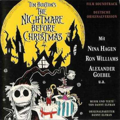 Soundtracks - The Nightmare Before Christmas Soundtrack