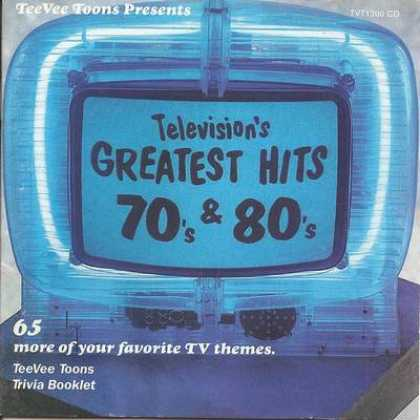 Soundtracks - Television's Greatest Hits 70's & 80's