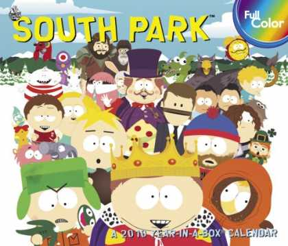 South Park Books - South Park 2010 Year In A Box Calendar