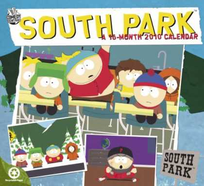 South Park Books - South Park 2010 Wall Calendar