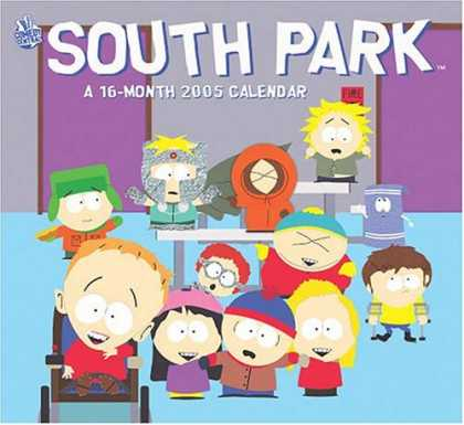 South Park Books - South Park 2005 Calendar