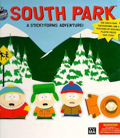 South Park Books - South Park A Stickyforms Adventure