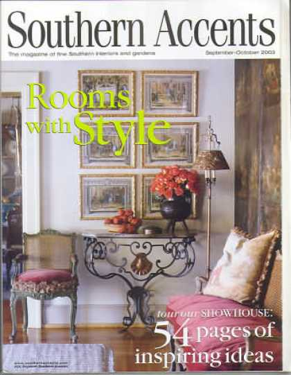 Southern Accents - September 2003