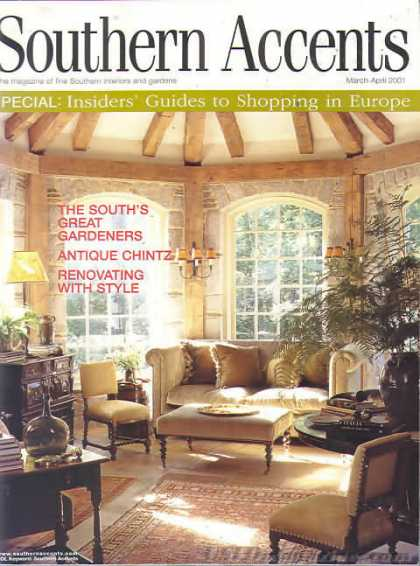 Southern Accents - March 2001