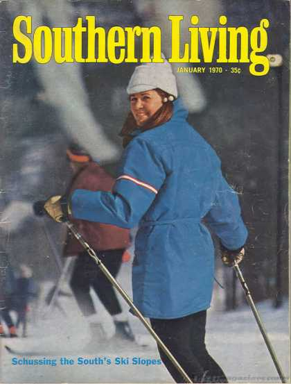Southern Living - January 1970