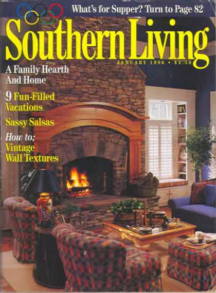 Southern Living - January 1996