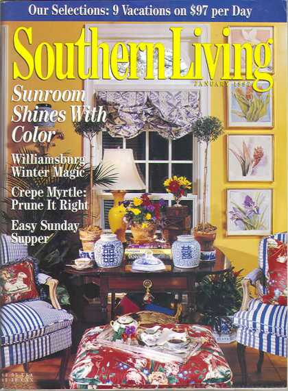 Southern Living - January 1997