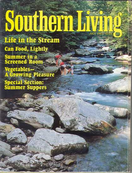 Southern Living - July 1983