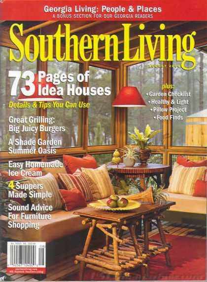 Southern Living - August 2004