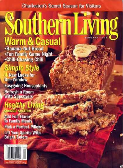 Southern Living - January 2005