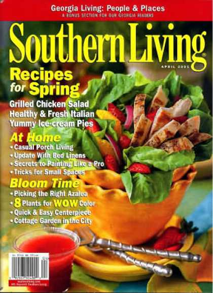 Southern Living - April 2005