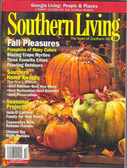 Southern Living - October 2006