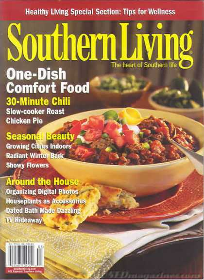 Southern Living - January 2007
