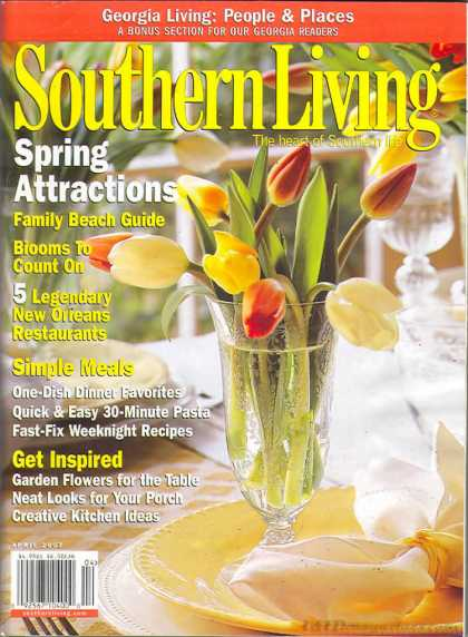 Southern Living - April 2007