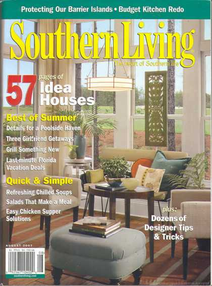 Southern Living - August 2007