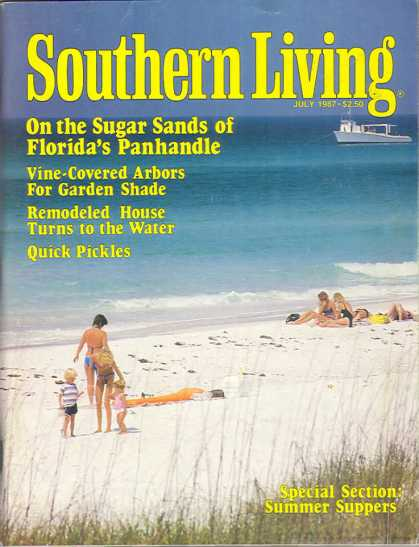 Southern Living - July 1987