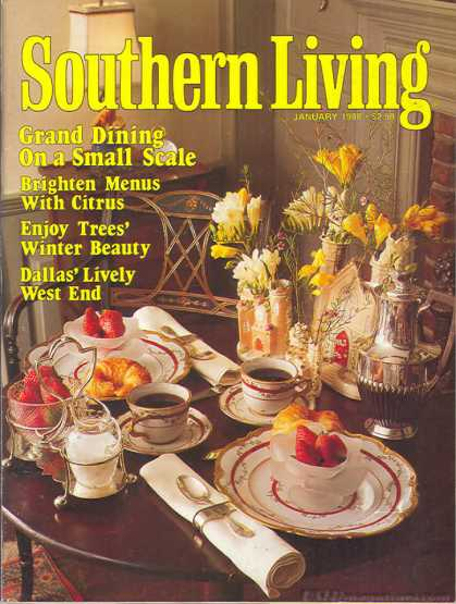 Southern Living - January 1988