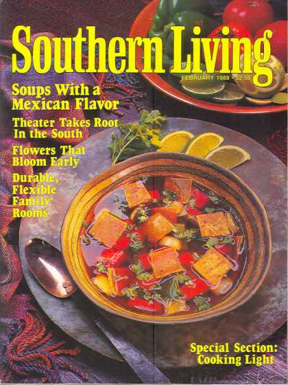 Southern Living - February 1988