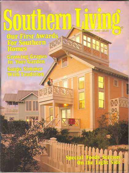 Southern Living - February 1989