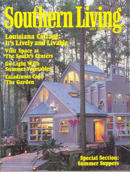 Southern Living - July 1989