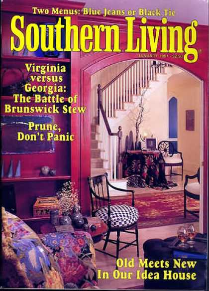 Southern Living - January 1991