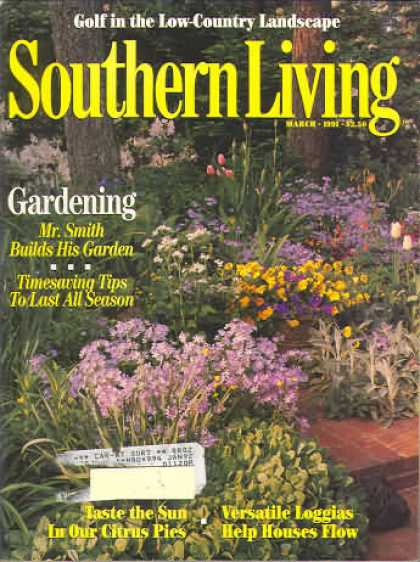 Southern Living - March 1991