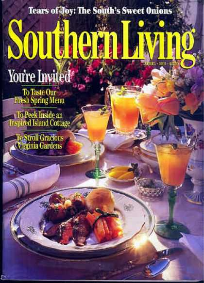 Southern Living - April 1991