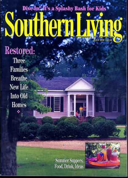 Southern Living - July 1991