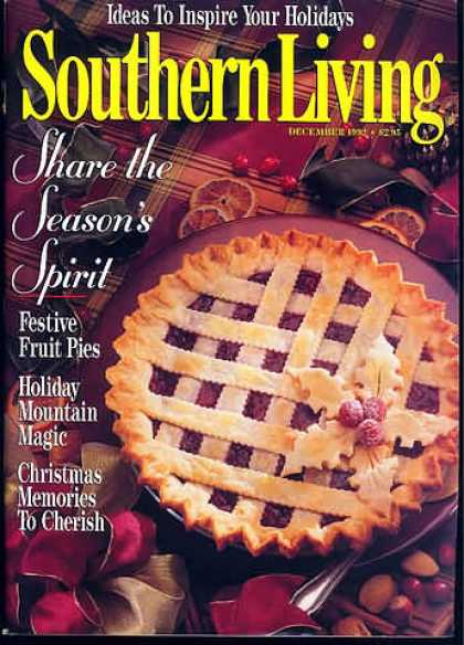 Southern Living - December 1992