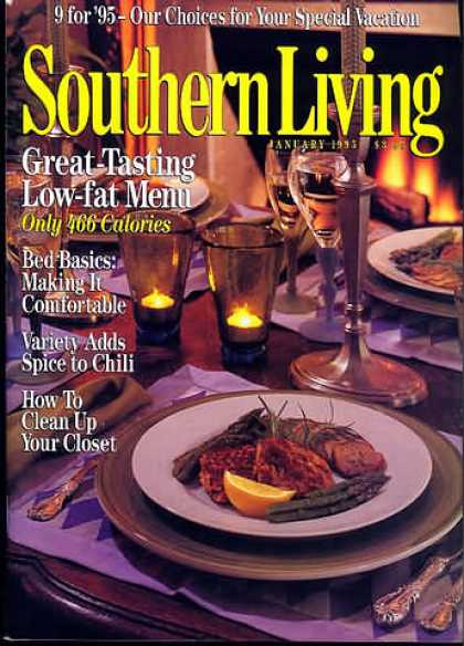 Southern Living - January 1995