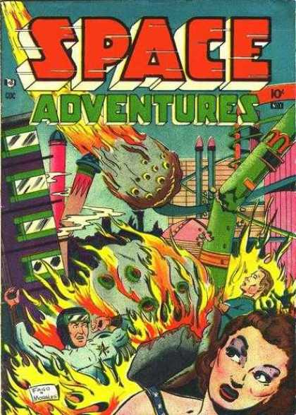 Space Adventures 1 - Flames From Space - Run While You Can - Invasion From Above - Fire In The Sky - Space Blasts