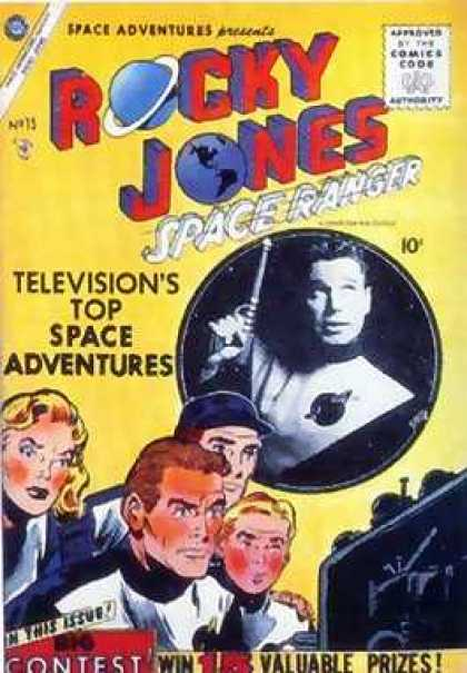 Space Adventures 15 - Space Ranger - Rocky Jones - Televisions - Valuable Prizes - Contest