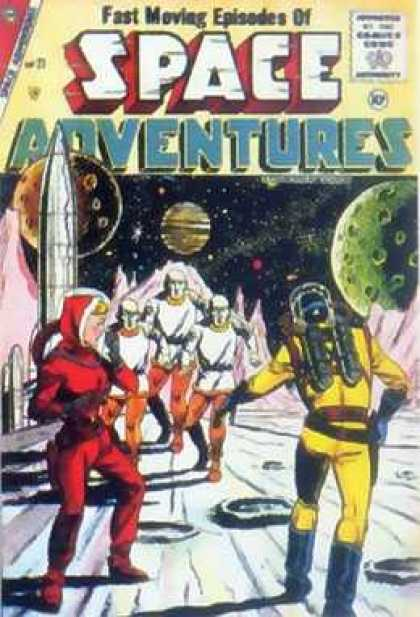 Space Adventures 21 - Dick Giordano