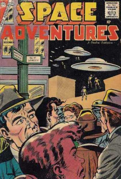 Space Adventures 26 - Ufo - Street Signs - Window - Aliens - Hats