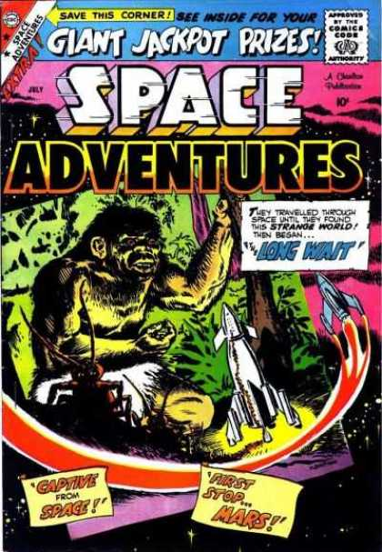 Space Adventures 29 - Jackpot - Prizes - Space Ship - Strange World - Traveling