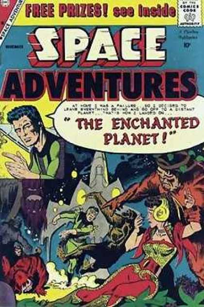Space Adventures 31 - Comics Code - Man - Woman - Space - Approved By The Comics Code