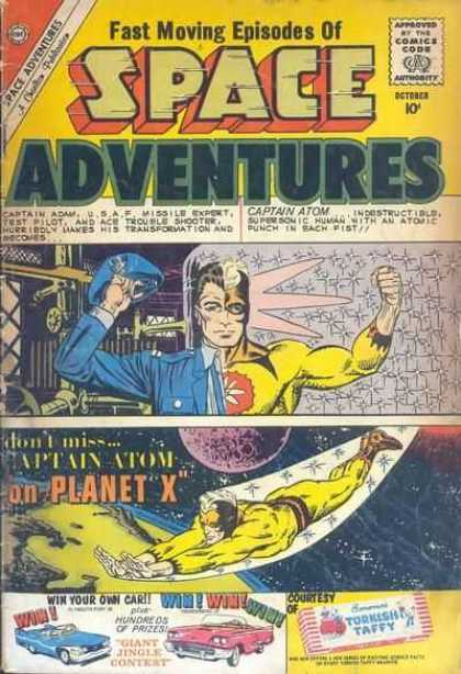 Space Adventures 36 - Space Adventures - Captain Atom On Planet X - Space - Captain Adam - Moon