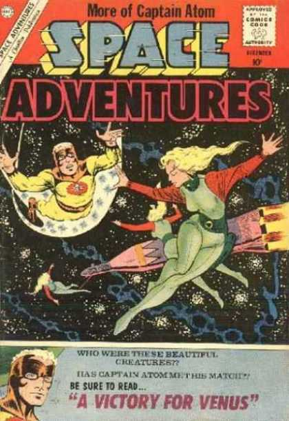 Space Adventures 37 - Captain Atom - Space Adventures - Creatures - Flying - Hero